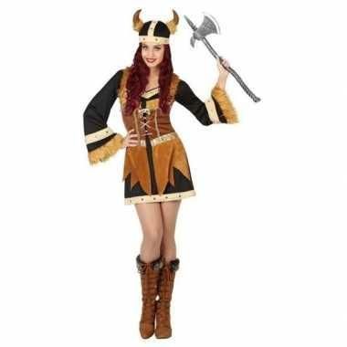 Viking verkleed kostuum/jurk voor dames