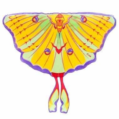 Vlinder vleugels komeetstaart verkleed accessoire voor kinderen