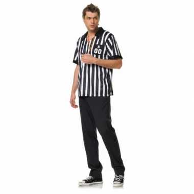 Voetbal scheids outfit