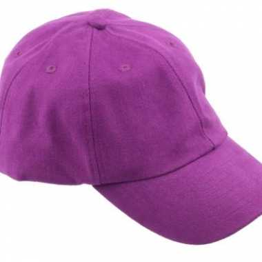 Voordelige baseballcaps paars