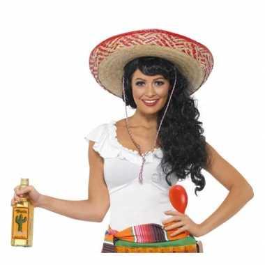Voordelige mexico verkleedset voor dames