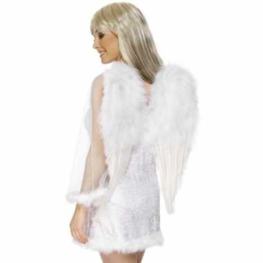 Witte engelenvleugels voor dames