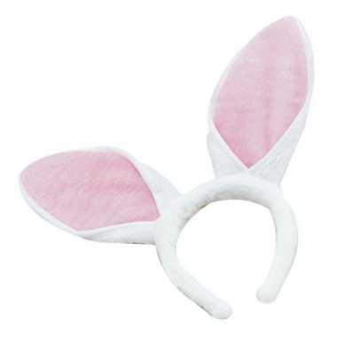 Witte konijnen oren