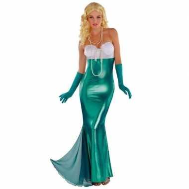 Zeemeermin/zeemeerminnen kostuum feestkleding voor dames