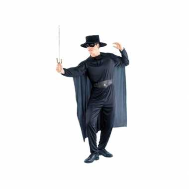 Zorro look a like verkleedpak voor heren