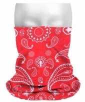 Boeren zakdoekprint hoofdband