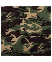 Camouflage woodland bandana