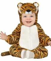 Dierenpak tijger verkleed kostuum voor peuters 12 18 maanden