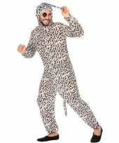 Dierenpak verkleed kostuum dalmatier hond voor volwassenen