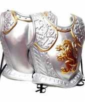 Harnas middeleeuwen zilver