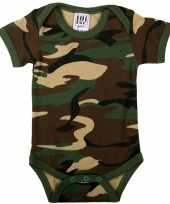 Leger camouflage baby romper