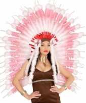 Luxe hoofdband met roze veren