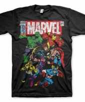 Marvel team shirt voor heren