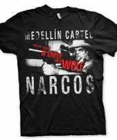 Narcos medellin cartel t-shirt heren