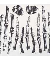 Nep tattoos skelet botten hand