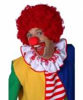 Rode clownspruiken