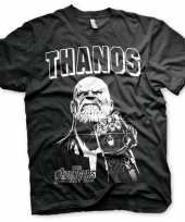 The avengers thanos shirt voor heren