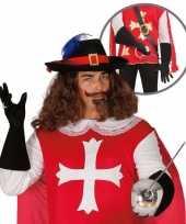 Verkleedkleding musketier accessoire volwassenen 10064667
