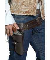 Western riem met holster