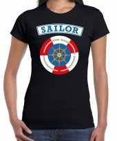 Zeeman sailor verkleed t-shirt zwart voor dames